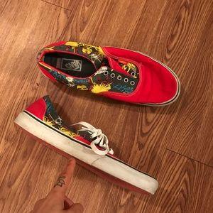 Vans marvel shoes sneakers size 11